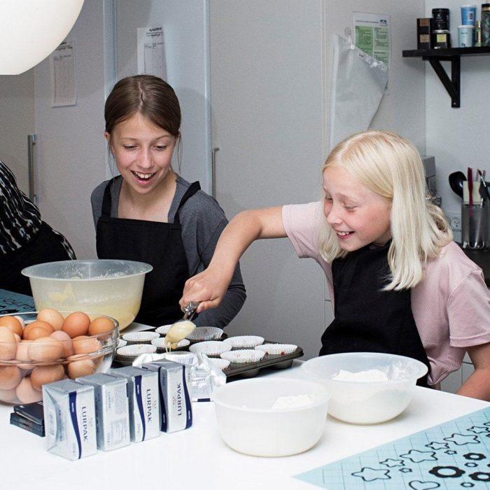 Kagekursus for børn og forældre